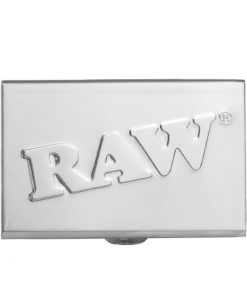 Tin Case of RAW brand pre rolled joints